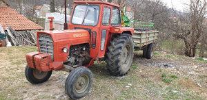 Traktor IMT 577,Prikolica kiperka 5t - SVE TOP STANJE