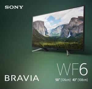 "Sony 50WF660 50"" FullHD Smart TV KDL50WF660BAEP"