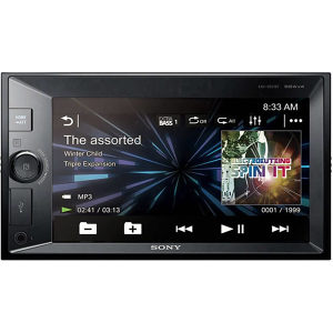 Sony LCD radio za auto 6,2'', Bluetooth, 55W