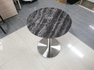 Kamena ploča za stol Ø60 crna