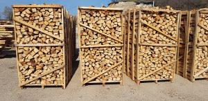 Cijepana bukova drva palete bukva