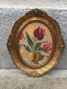Vilerov goblen - Ruže (Ručni rad)