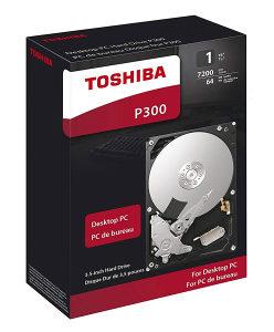 Toshiba HDD 1TB, 7200rpm, 64MB P300
