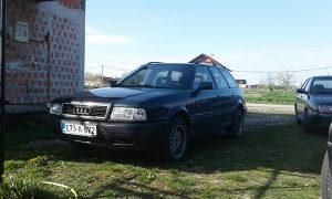 Audi 80 B4 1.6 74KW tek registrovan atest do 10.24.god