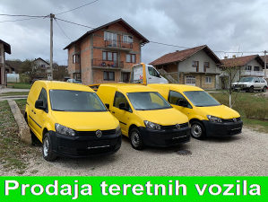 VW CADDY 4motion 4x4 2.0TDI model 2012, 5 sjedista