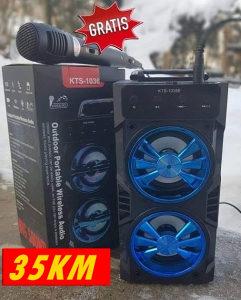 Bluetooth zvucnik i gratis mikrofon AKCIJA