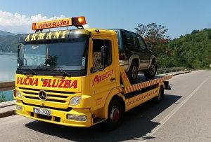 Vucna slep sluzba usluge prevoza Konjic Jablanica