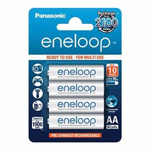 PANASONIC Eneloop  Battery Aa 2100 Mah 4 Blisterpack