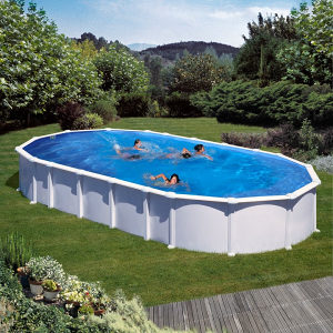 Porodični bazen sa čeličnim stranicama 9,15x4,70x1,32 m