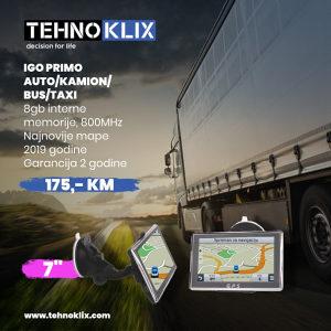 GPS Navigacije 2019 7 incha IGO (8GB/800) AUTO, KAMION