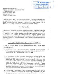 Prodaja kuce i njiva , Ratkovici , Opcina Lukavac