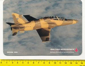 Naljepnica (samoljepljiva) avion Hawk 100