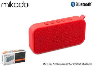 Mikado Bluetooth V4.2 Zvučnik MD-55BT Crveni