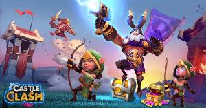 Castle Clash: Accounts, Power Leveling, Items