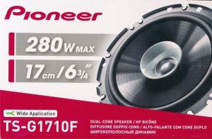 Pioneer 17cm TS-G1710F Auto Zvucnici