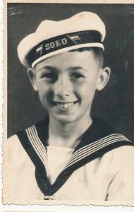 Fotografija Mornar s broda Soko Kraljevina Jugoslavija