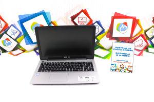 Laptop Asus X555U i5-6200u; 8GB RAM; 128GB SSD