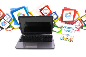 Laptop Compaq TPN-C117 AMD A4; 8GB RAM; 1TB HDD; ATI