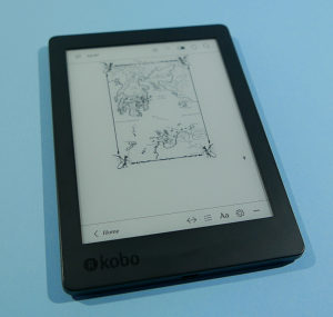 "Kobo Aura 6"" 4GB eReader eCitac eKnjiga"