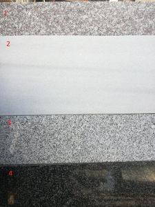 Klupice za prozore GRANIT / MERMER