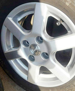 Alu felge i gume 14 4x108 ( Peugeot,Citroen,Opel )