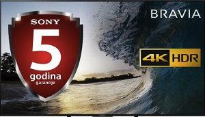 """Sony 65"""" XF7005 WiFi 4K Smart TV KD65XF7005BAEP UHD"""