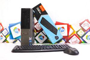 Računar DELL 390 i3-2100; 160GB HDD; LICENCA Win7 PRO