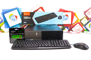Računar DELL 390 i3-2100; 120GB SSD; LICENCA Win7 PRO