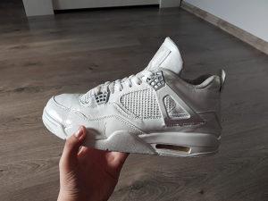 "Custom Nike Air Jordan Retro 4 IV ""PURE MONEY"""