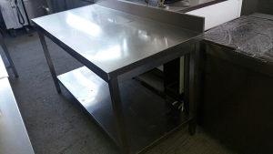 Radni sto inox 1.50m x 70 cm ugostiteljski