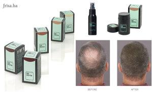Fiber za rijetku i prorjeđenu kosu