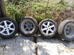 Aluminijske felge sa gumama R 14