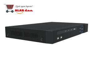 NVR 36CH, HEVC H.265, 4K UHD, HDD/SSD support