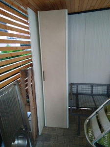 Plakar orman metalni balkon