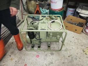 Agregat RADE KONCAR lambardini motor