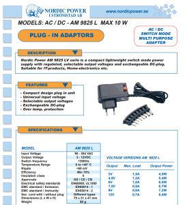 Univerzalni punjač 3-12V s adapterima AC DC