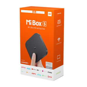 Xiaomi Mi TV box S Android 8 Global version 4K Ultra HD