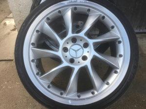 Aluminijske feluge sa gumama 19ke 5x112