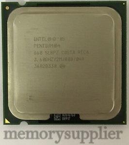 Procesor Intel Pentium 4 3.6 ghz (775) HT