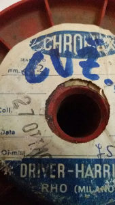 Cekas ( kantal ) debljina 0,15mm okrugli