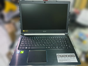 Acer Aspire A515, i7-7500U, 8GB, SSD 128 + 1TB, Nvidia MX130 2GB