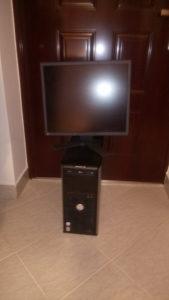 Računar Dell core2duo -komplet-povoljno