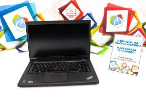 Laptop Lenovo T440s; i5-4300m; 8GB RAM; 500GB HDD; 14''