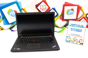 Laptop Lenovo T440s FHD; i5-4300m; 8GB RAM; 180GB SSD