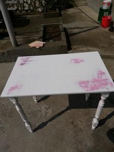 Stilski sto za sminkanje,antikvitet