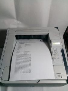 Printer HP LaserJet P2055D - HP printer