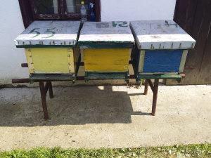 Mijenjam košnice za pčelinjeg rojeve