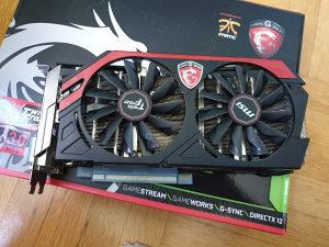 Nvidia GeForce 770 GTX MSI TwinFrozr