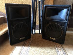 Razglas Yamaha Mikseta emx66m - dvije zvučne kutije 12-ke