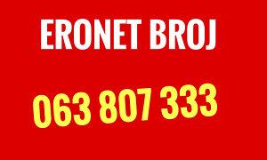 Eronet broj 063 807 333